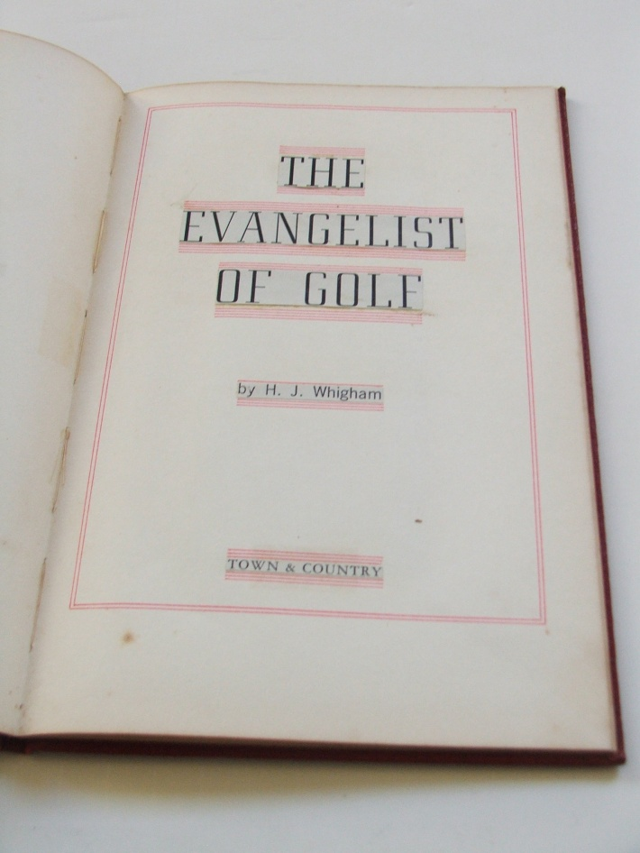 Evangelist Title Page